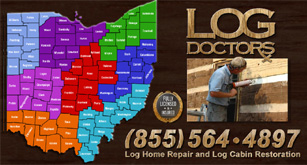 Ohio Log Home Repair