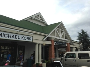 Commercial Framing Contractor for Tanger Outlet Mall