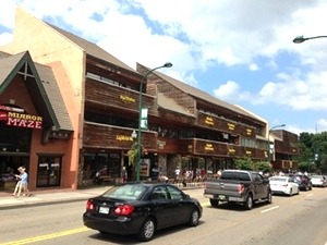 Commercial Framing Contractor | Mountain Mall